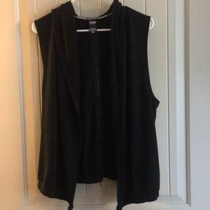 Victoria Sport workout vest with hoodie